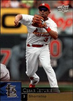 Cesar Izturis St Louis Cardinals, Mlb, Baseball Cards, Sports, Hs Sports, Sport