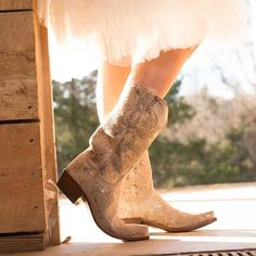 Silver wedding boots:http://www.countryoutfitter.com/style/silver-boots-wedding/?lhb=style
