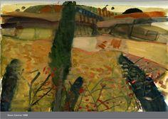Landscape Drawings, Landscape Art, Landscape Paintings, Landscapes, Awesome Art, Cool Art, Barbara Rae, Seascape Paintings, Contemporary Landscape