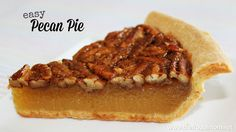 I like dessert and am usually not picky when it's time to eat. But if you give me a choice of two things, I'm going straight for the pecan pie. Served warm with a nice scoop of vanilla ice cream on top? Yes, please! That spells delish in so many languages!