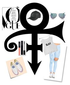"""""""Untitled #33"""" by ali-sifet-r ❤ liked on Polyvore featuring Post-It, Converse, Cutler and Gross, Gucci and NARS Cosmetics"""