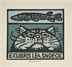 Ex libris by Henk Blokhuis