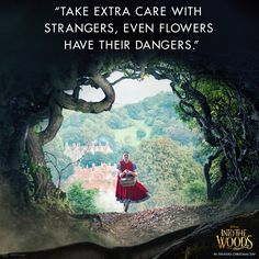 """Isn't it nice to know a lot?"" #IntoTheWoods"