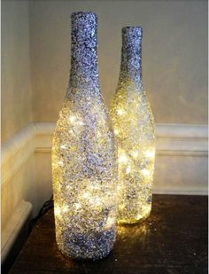 wine bottle lamps | Wine bottle lamps