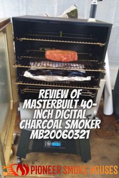In the world of smokers, Masterbuilt is a name everyone knows, but honestly, they have not been a charcoal smoker company until now. Masterbuilt has recently released its latest entry into the charcoal smoker market, including luxuries like digital Wi-Fi Bluetooth controls..... Charcoal Smoker, Smoke Bbq, Everyone Knows, Smokers, Wi Fi, Bluetooth, Digital