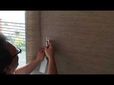 grasscloth wallpaper installation | part 5 of 5