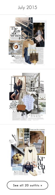 """""""July 2015"""" by color-me-red ❤ liked on Polyvore featuring Aime, Derek Lam, MiH Jeans, Chicwish, Mismo, Agent Provocateur, Abercrombie & Fitch, Michael Kors, Keds and Yves Saint Laurent"""