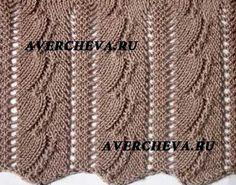Узоры для вязания спицами 194