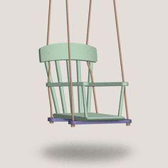 Selber bauen: Ein Schaukel-Stuhl