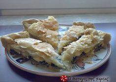 Η πίτα της Μαρίας συνταγή από τον/την TSOFAGR - Cookpad Savory Muffins, Spanakopita, Apple Pie, Cauliflower, Appetizers, Vegetables, Ethnic Recipes, Desserts, Food