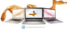 ASUS ZenBook series represents the essence of ASUS design spirit, and UX303 takes this to another level of sophistication with fresh and gorgeous new colours including Smoky Brown, Icicle Gold and Rose Gold.* The elegant colour themes are further enhanced by the iconic spun-metal finish that echoes the spirit of Zen.