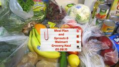 Weekly Meal Plan and Sprouts & Walmart Grocery Haul (05.08.15)
