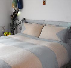 St. Bart's Duvet Cover Comforter Cover, Duvet Sets, Duvet Covers, Linen Sheets, Linen Duvet, Cal King Size, Cool Beds, Grey And White, St Barts