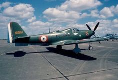 A Bell P-63 Kingcobra in French Air Force colors.