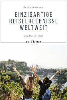 Einzigartige Reiseerlebnisse mit GetYourGuide The Chill Report - cakerecipespins. Austria, Europe, Movies, Movie Posters, Club, Wine Tasting, Tours, Explore, Films