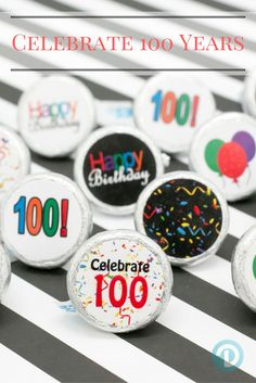 Easy simple and tasty 100th birthday party idea! & 57 best 100th Happy Birthday Party Ideas images on Pinterest | 40th ...