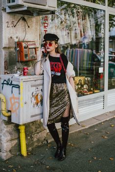 Skirts in Winter: Couturezilla