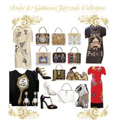 Fairytale Collection by jillian-dodd on Polyvore featuring Dolce&Gabbana and Lara