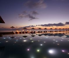21 Photos of Luxury Resort in the Maldives Which Tells the Most Exotic Story - Anantara Kihavah is the name of luxury villas that you are able to see below and are owned by the well-known chain of luxury resorts and spa centers, Anantara Places Around The World, The Places Youll Go, Places To See, Around The Worlds, Beautiful Sunset, Beautiful World, Beautiful Places, Beautiful Sites, Amazing Places