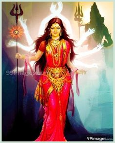 Miraculous Secrets Which Lord Shiva Passed On To Goddess Parvati - WittyFeed India Indian Goddess, Mother Goddess, Goddess Lakshmi, Shiva Shakti, Durga Maa, Kali Hindu, Hindu Art, Sacred Feminine, Divine Feminine