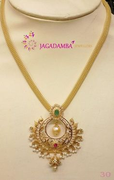 30 Grams Gold Necklace Models, Gold Necklace Designs in 30 Grams, Latest Gold Necklace Designs in 30 Grams. Simple Necklace Designs, Gold Necklace Simple, Gold Jewelry Simple, Gold Earrings Designs, Gold Chain Design, Gold Jewellery Design, Gold Pendent, Diamond Pendant, Jewelry Model