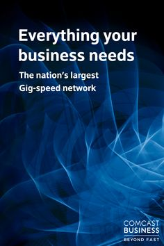 Take your business to the next level with the nation's largest Gig-speed network. Go Beyond Fast with Comcast Business and get complete reliability while staying within an affordable budget. Starting A Business, Business Planning, Business Tips, Work From Home Jobs, Make Money From Home, Financial Tips, Craft Business, Chef, Making Ideas