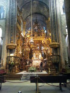 Camino, Santiago de Compostella, cathedral,   Botafumeiro, wierook
