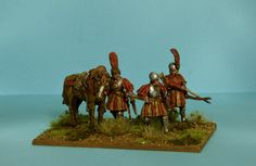 Another piece of exquisite work by Stuart of Army Royal blog. Again these Guard Archers of Louis XII's forces are heavy conversions of Perry 28mm plastic figures