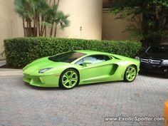 Lamborghini Aventador spotted in Aventura, Florida