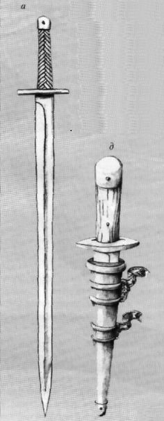 Image result for Парадный палаш по материал могильника Сростки, Горный Алтай.