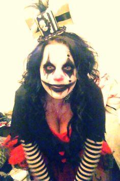 evil clown makeup 2013'