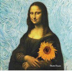 Mona Según Van Gogh