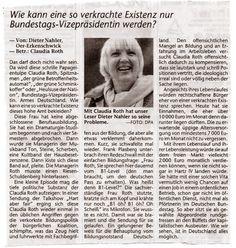 """Claudia Roth erklärt uns den B1-Level, den jeder Migrant schaffen muss. Sendung """"Hart aber Fair"""" am 3.9.2008 auf ARD.  Verlangt sind dabei mindestens 200 Worte Deutsch.  Claudia Roth bezeichnet dies als sehr gute Deutsch Kenntnisse."""