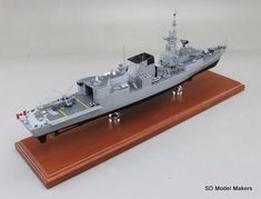 SD Model Makers > Frigate Models > Halifax Class Frigate Models Royal Canadian Navy, Shipping Crates, Model Maker, Work Horses, Paint Schemes, Display Case, Sd, At Least, Models