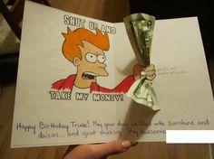 Shut Up and Take My Money! No, Really! - CARD Idea