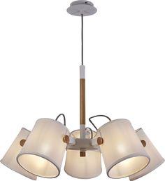 Colgante 5 luces Nórdica II 5460 de Mantra [5460] - 171,75€ :
