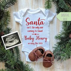Baby Number 2 Announcement, Baby Announcement Grandparents, Fall Pregnancy Announcement, Cute Baby Announcements, Christmas Baby Announcement, December Baby, Baby Due, Baby In Pumpkin, Baby Coming