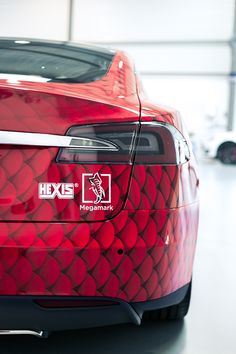 Total Covering Of Tesla Model S with Hexis Film
