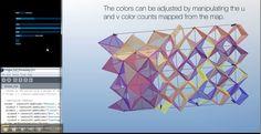 The video explores the development of a parametric system to control a rigid folding facade.  The rigid folding modules were made with Tomohiro Tachi's 'Free Form…