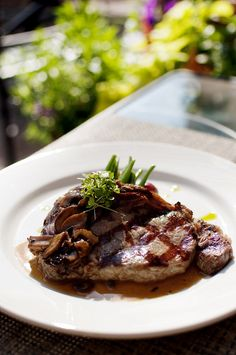 Delmonico Steak at Ariccia- photography by Lisa Taylor