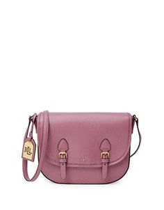 Tate Leather Messenger Bag | Hudson's Bay