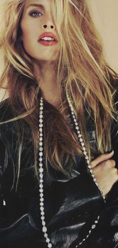 (Leather jacket .. Guess necklace) Strike A Pose | Keep The Glamour ♡ ✤ LadyLuxury ✤