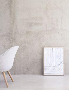 """""""Cove"""" art print www.silkebonde.dk"""