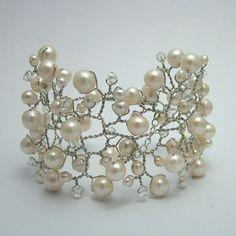 cuff bracelet pearl cuff, cuff bracelets