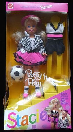 Barbie Party n Play  Stacie. I had this doll, the black version of course.