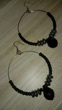Diy Jewellery, Jewelry Making, Brick Stitch, Stone Jewelry, Biscuit, Beaded Necklace, Hoop Earrings, Bling, Patterns