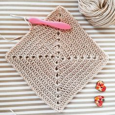 Crochet Granny, Crochet Top, Fringes, Beige, Boho, Cotton, Instagram, Women, Bangs