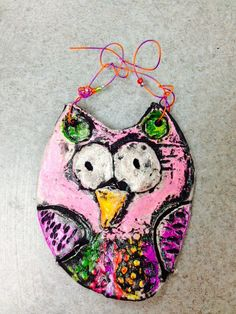 WHAT'S HAPPENING IN THE ART ROOM??: 1st Grade Clay owls.. maybe clay scarecrows?