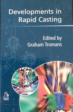 2003 rapid casting book 3d Printing, It Cast, Museum, Crafty, Prints, Books, Impression 3d, Libros, Book