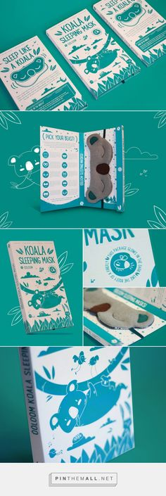 This Adorable Koala Sleeping Mask Will Help You Catch Up on Your Beauty Sleep — The Dieline - Branding & Packaging Design... - a grouped images picture - Pin Them All